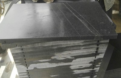 HONED G654 GRANITE WALL CLADDING