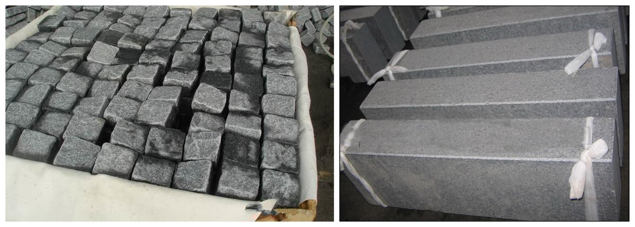 G654 granite kerbs